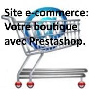 Développement de site internet vitrine et e-commerce avec prestashop.